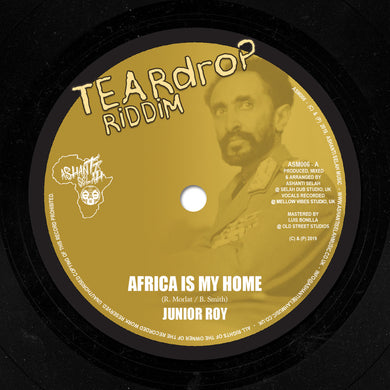 Teardrop Riddim - Africa is my home / Africa Dub