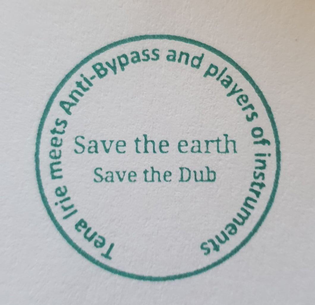 Tena Irie Meets Anti By-pass - Save The Earth / Save the Dub - Ltd Selected Cut