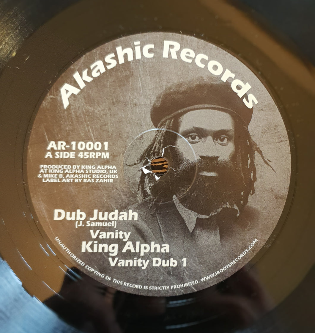 Dub Judah & King Alpha ‎– Vanity