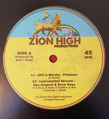 Pressure ‎– Jah Is Worthy / Barbara Nap - The Rainbow