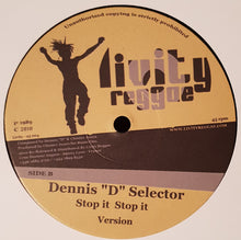 "Ackee / Dennis ""D"" Selector ‎– Lick Them / Stop It Stop It"