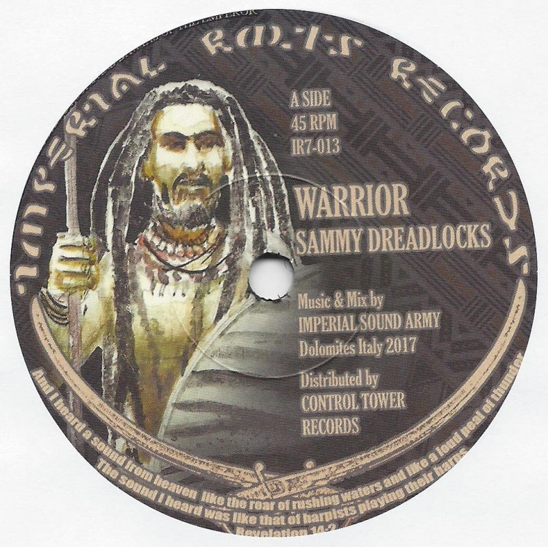 Sammy Dreadlocks, Violinbwoy ‎– Warrior, Dub Violin