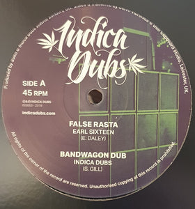 Earl Sixteen / Indica Dubs / Culture Freeman ‎– False Rasta / Fret Not