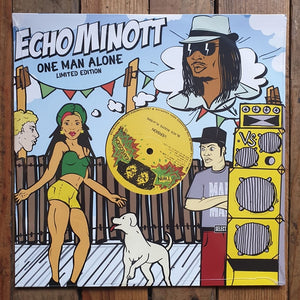 Echo Minott ‎– One Man Alone