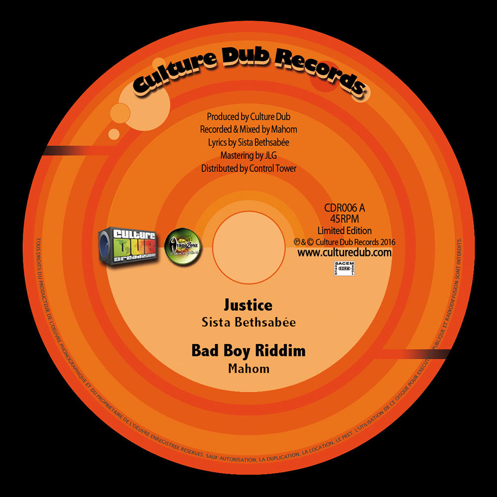 Sista Bethsabée / Maïcee, Mahom, Adi Shankara ‎– Justice / The Big Bad Zoo