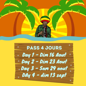 """Across the river Festival"" - Pass 4 jours"