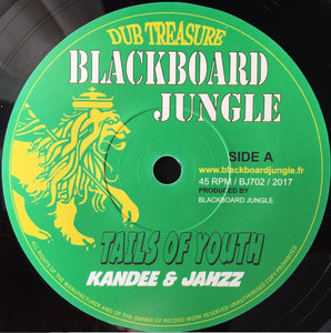 Kandee Dub & Jahzz ‎– Tails Of Youth