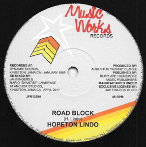 Hopeton Lindo ‎– Road Block
