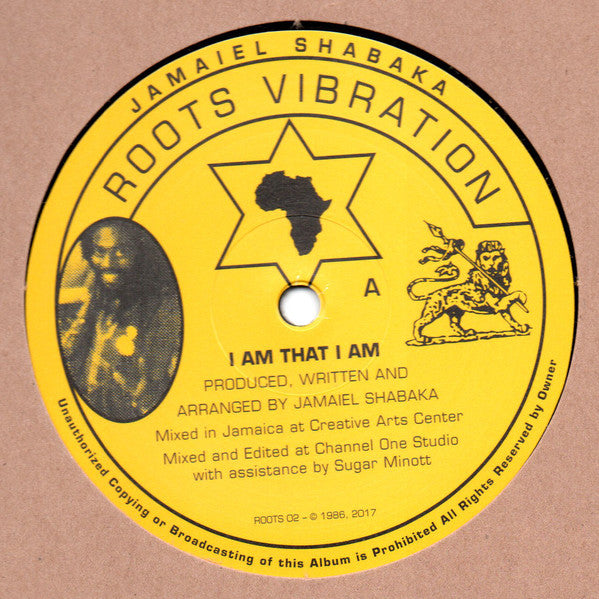 Jamaiel Shabaka ‎– I Am That I Am