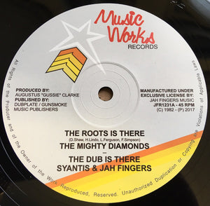 The Mighty Diamonds ‎– The Roots Is There / Revolution