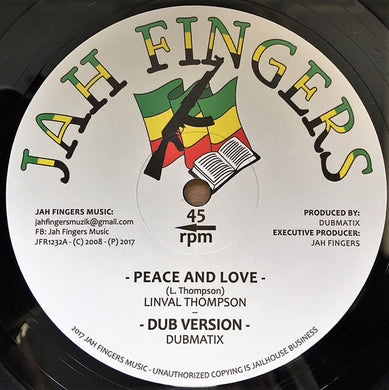 Linval Thompson, Horace Andy ‎– Peace And Love / It's A Clash