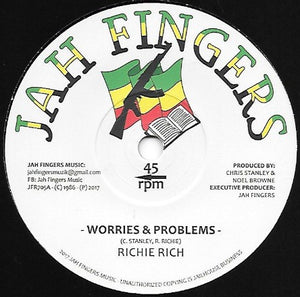 Richie Rich ‎– Worries & Problems / Follow Me