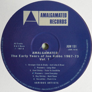 Various ‎– The Early Years Of Joe Gibbs 1967-73 - Vol. 1