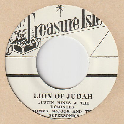 Justin Hinds & The Dominoes, Tommy McCook And The Supersonics / Tommy McCook & The Supersonics ‎– Lion Of Judah / Danger Man - 007