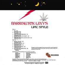 Barrington Levy ‎– Barrington Levy's Life Style