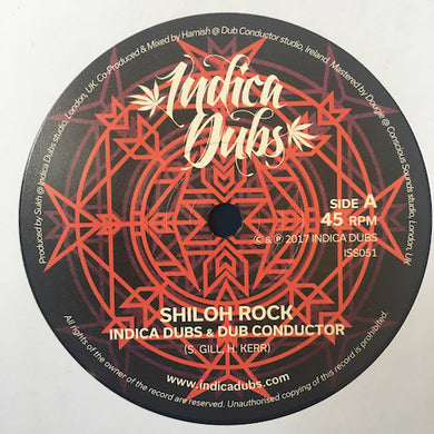 Indica Dubs & Dub Conductor ‎– Shiloh Rock