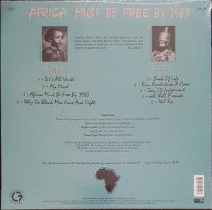 Hugh Mundell ‎– Africa Must Be Free By 1983