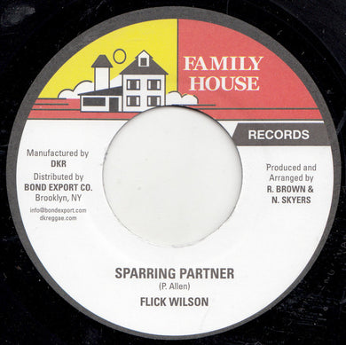 Flick Wilson ‎– Sparring Partner
