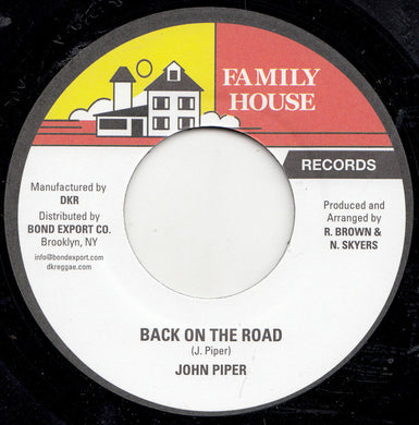 John Piper ‎– Back On The Road
