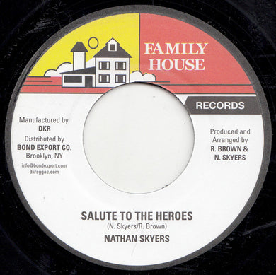 Nathan Skyers ‎– Salute To The Heroes