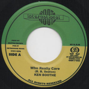 Ken Boothe ‎– Who Really Care