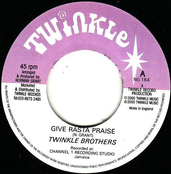 Twinkle Brothers ‎– Give Rasta Praise