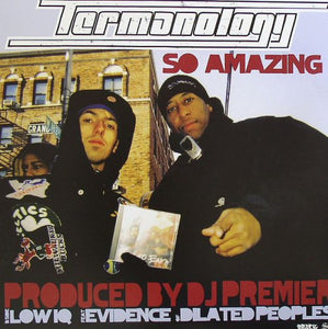 Termanology ‎– So Amazing / Low IQ