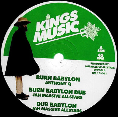 Anthony Que / Dan Corn ‎– Burn Babylon