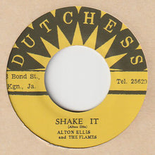 Alton Ellis And The Flames* / Tommy McCook And The Supersonics* ‎– Shake It / 1-2-3 Kick