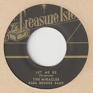 The Miracles, Baba Brooks Band / Baba Brooks And His Orchestra ‎– Let Me Be / Special Event