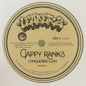 Gappy Ranks, Tenna Star ‎– Conquering Lion / Stand For Life