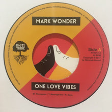 Mark Wonder ‎– One Love Vibes