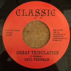 Paul Freeman – Great Tribulation