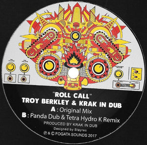Troy Berkley & Krak In Dub ‎– Roll Call