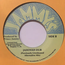 Johnny Osbourne ‎– Jahovah (Previously Unreleased Alternative Mix)