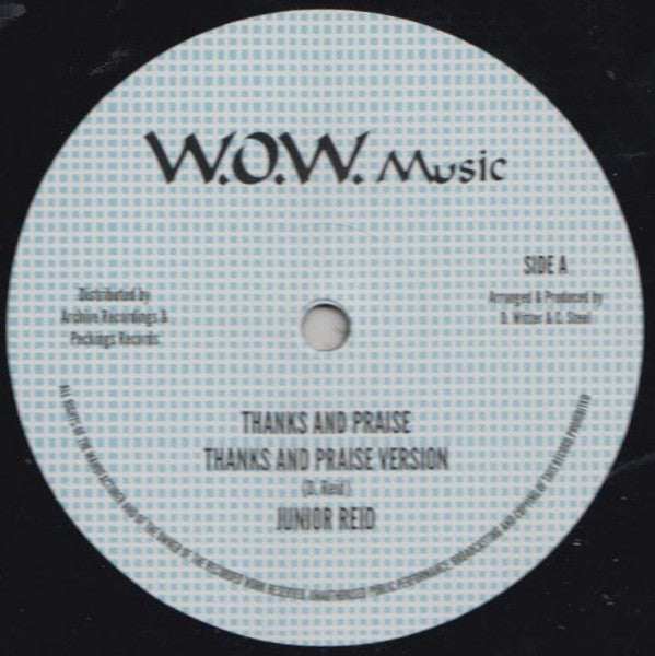 Junior Reid ‎– Thanks & Praise