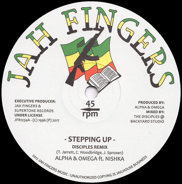 Alpha & Omega, Nishka ‎– Stepping Up
