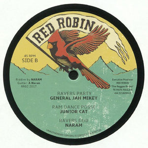 Midnight Riders, General Jah Mikey, Naram, Junior Cat ‎– Bobby Was A Gangster / Ravers Party