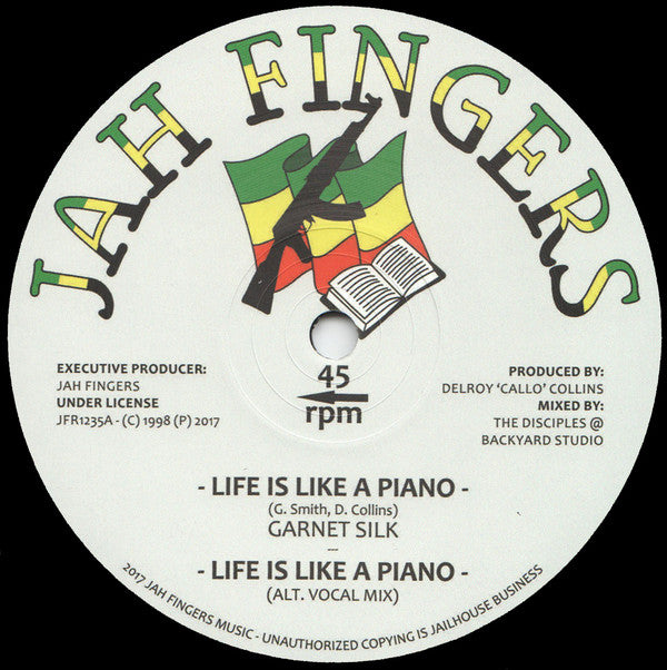 Garnett Silk ‎– Life Is Like A Piano