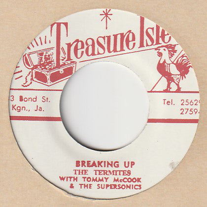 The Termites With Tommy McCook & The Supersonics / Tommy McCook & The Supersonics ‎– Breaking Up / Soul For Sale