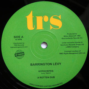 Barrington Levy ‎– Hypocrites / Oh Jah, Can't You See