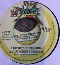 Michael Prophet & Junior Cat, Ras Sherby ‎– Ease Up The Pressure / Stand Up