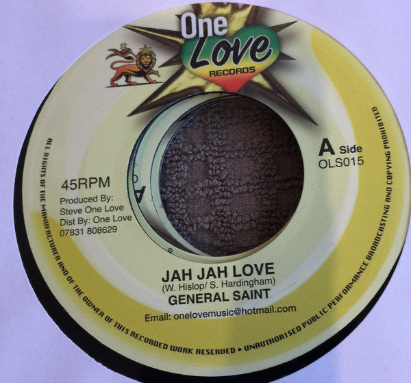 General Saint ‎– Jah Jah Love