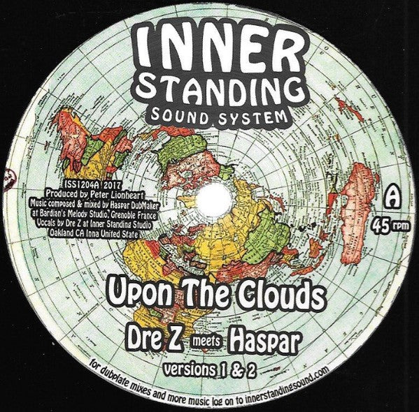 Dre Z Meets Haspar / Chaddy Royal ‎– Upon The Clouds / Keep & Care Rmx