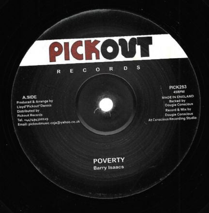 Barry Isaacs - Poverty
