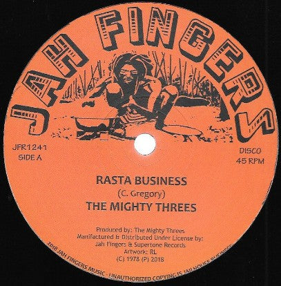 The Mighty Threes ‎– Rasta Business / Sata