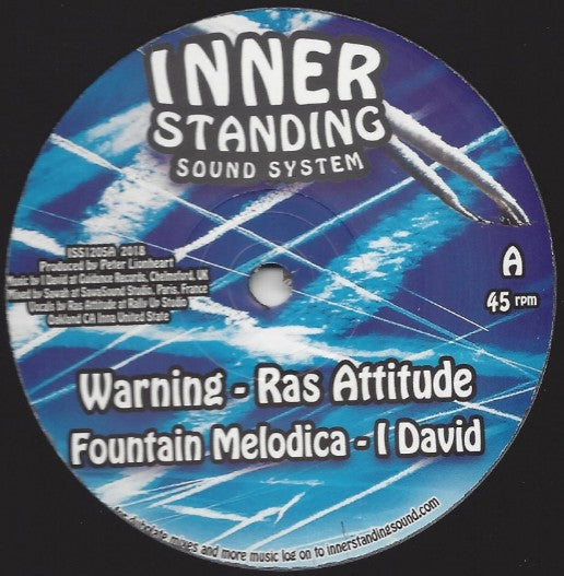 Ras Attitude / Dre Z  ‎– Warning / Read The Signs