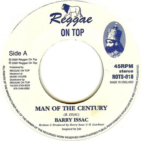 Barry Issac / Reggae On Top Allstars ‎– Man Of The Century