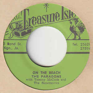 The Paragons / Tommy McCook & The Supersonics ‎– On The Beach / Theme From The Sandpiper