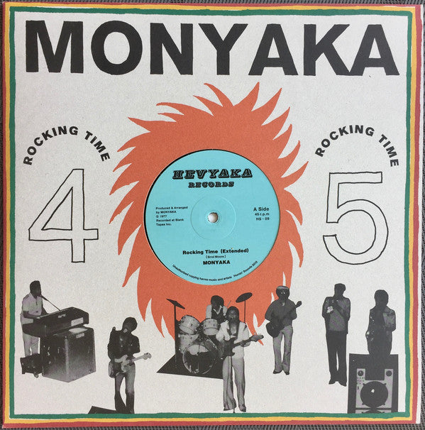 Monyaka ‎– Rocking Time
